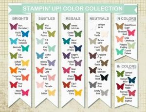 SU Color Chart 2013