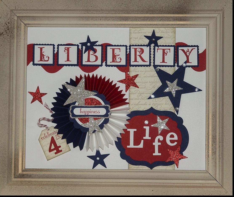 July 4th, Holdiay Frame Art