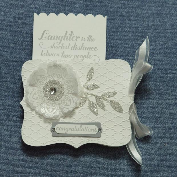 Mixed Bunch Wedding Shower Gift Card Holder