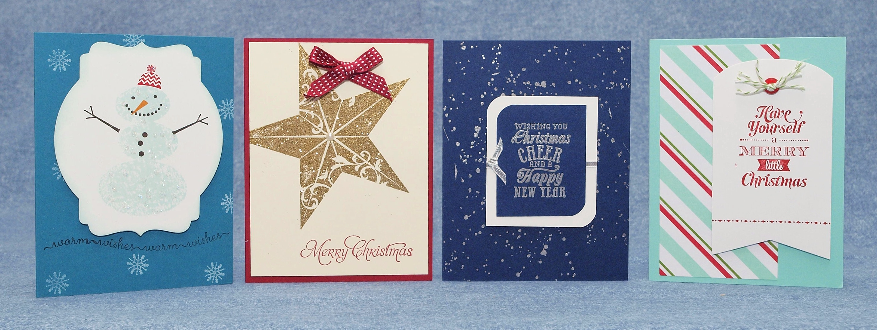 Ice Storm in North Texas = Stamping Christmas Cards!!! – Cindy\'s Corner