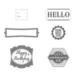 Label Something Stamp Set