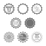 A Round Array Stamp Set