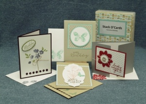 Clean & Simple Stamp O'Stack - May 2015