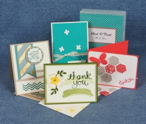 August 2015 Stack O' Cards 'Thank You'